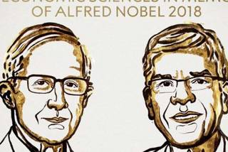 Hai người Mỹ cùng nhận giải Nobel Kinh tế 2018