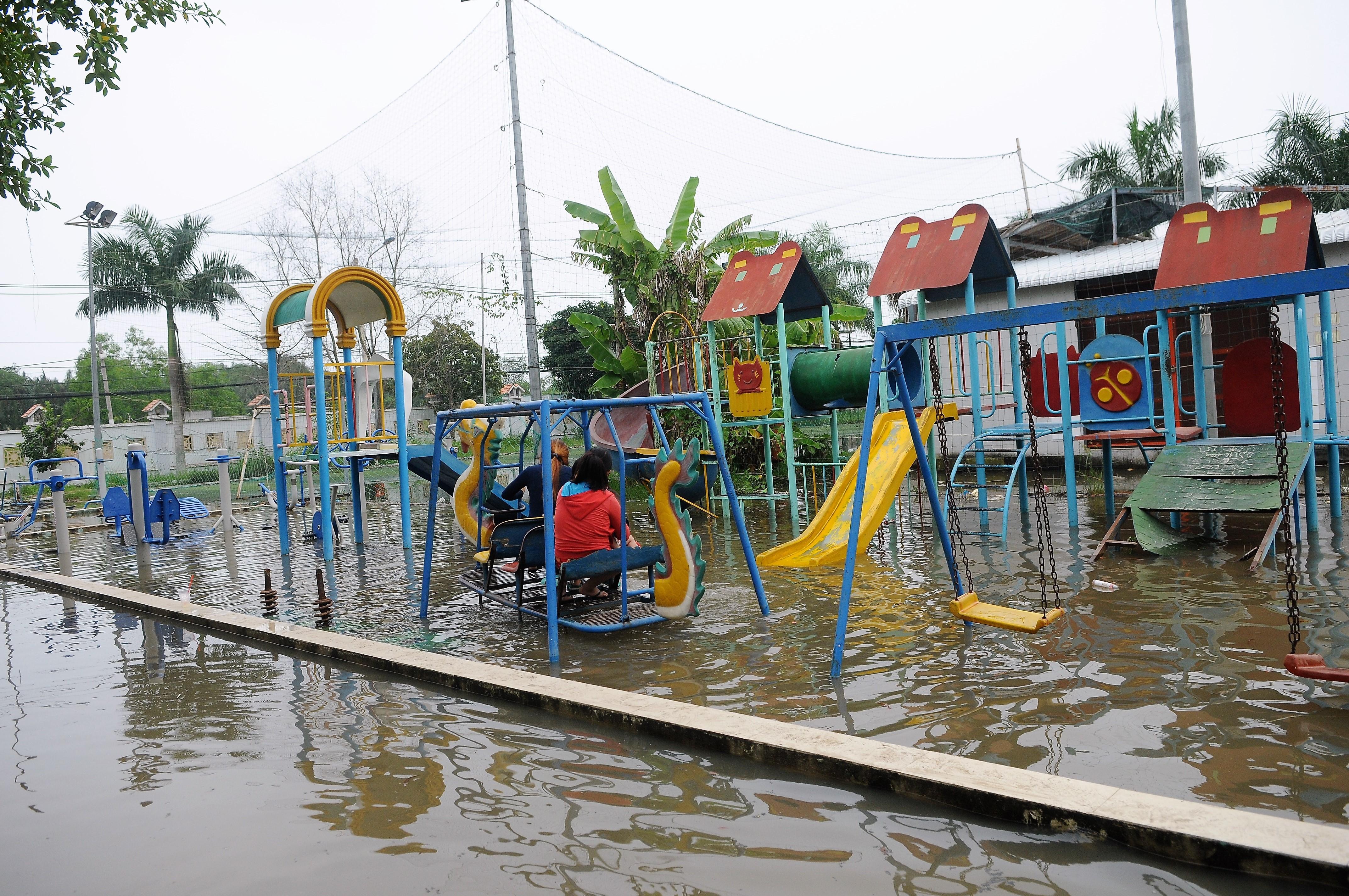 ngập nước,ngập nặng,triều cường gây ngập,Sài Gòn