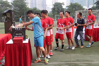 Cúp bóng đá Tứ hùng ngành kiến trúc: Kết nối và chia sẻ yêu thương