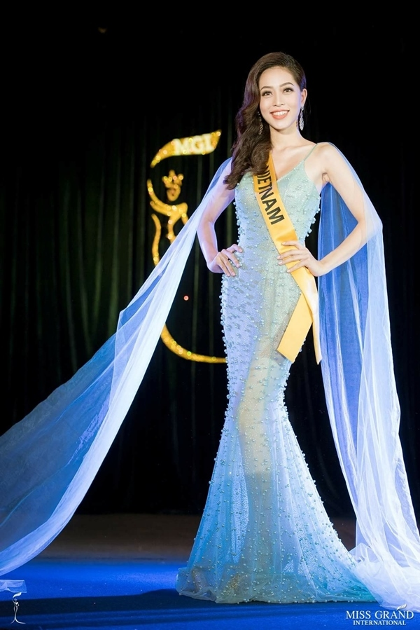 Miss Grand International 2018, hoa hậu Hòa Bình 2018, Bùi Phương Nga,Miss Grand International