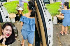 Con gái Thủy Tiên đòi xuống xe giữa đường vì lý do không ngờ