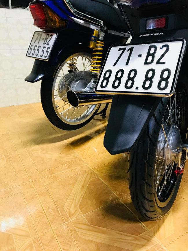 Honda Future biển ngũ quý 8, giá trên 250 triệu đồng