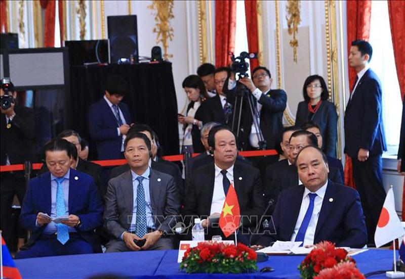 Thủ tướng Nguyễn Xuân Phúc,Nguyễn Xuân Phúc,Mekong - Nhật Bản