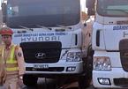 Táo tợn húc xe tải vào CSGT, cướp giấy tờ trên bàn tổ công tác