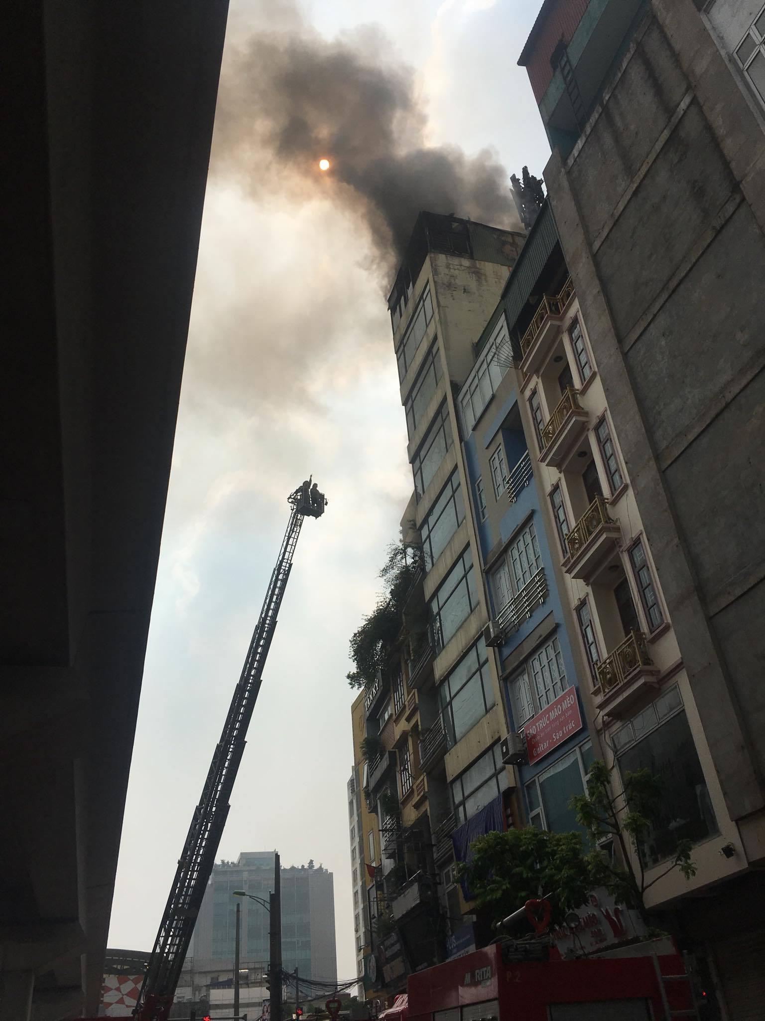 cháy ở Hà Nội,cháy quán karaoke