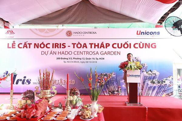 HaDo Centrosa Garden cất nóc Block Iris vượt tiến độ 4 tháng