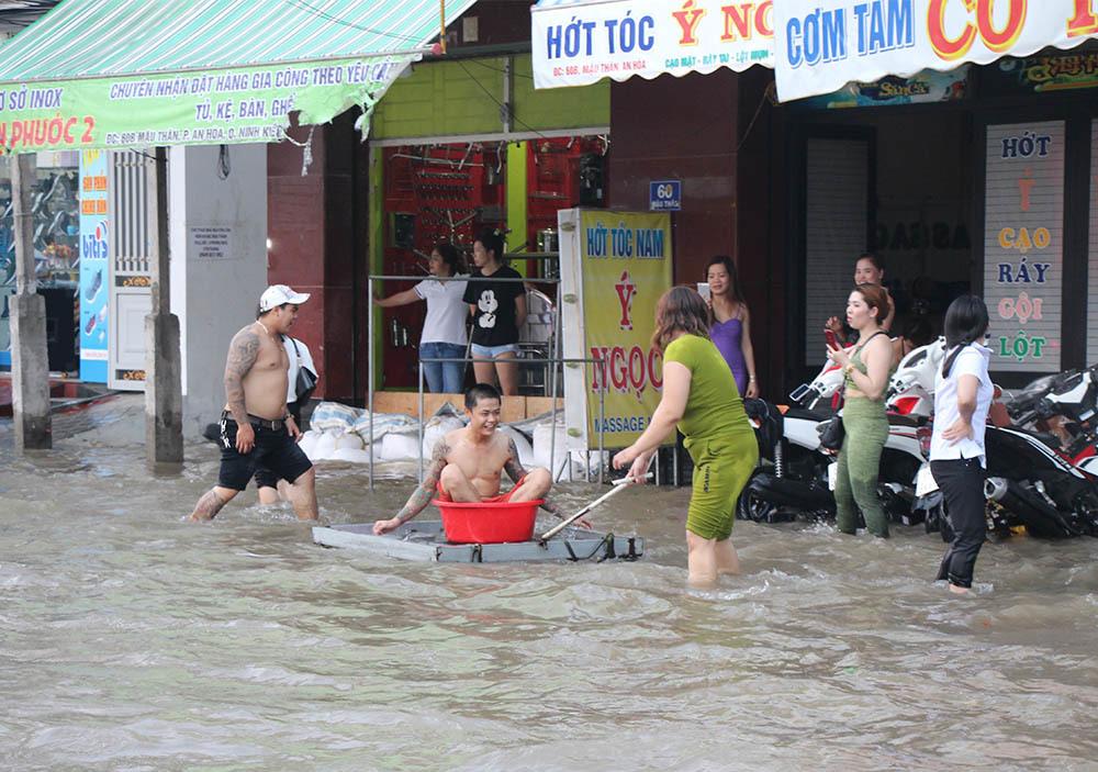 ngập lụt,vỡ đê,Cần Thơ,Triều cường