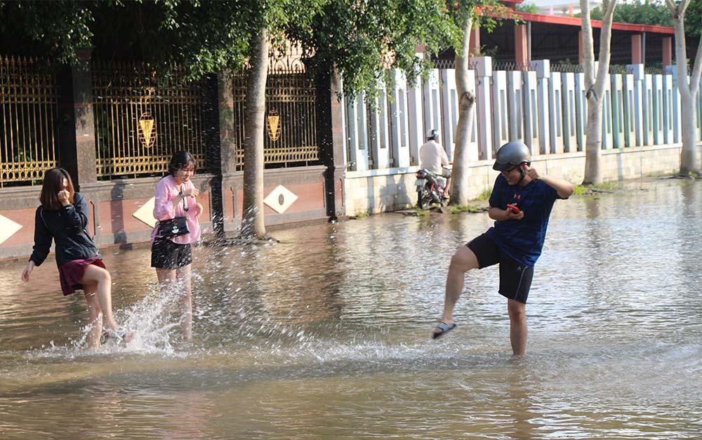 ngập lụt,Cần Thơ,Triều cường
