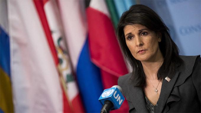 Donald Trump,Mỹ,đại sứ Mỹ tại LHQ,Nikki Haley,từ chức