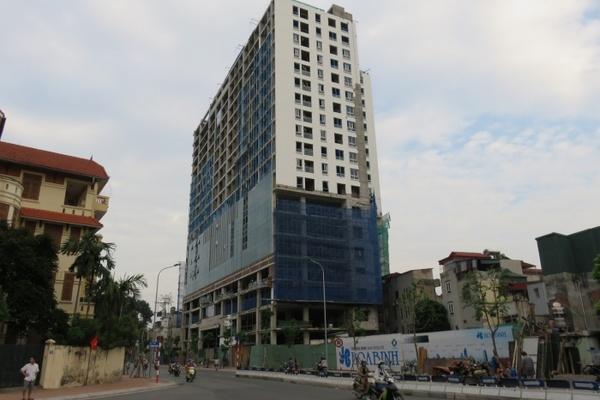 Bàn giao nhà 8B Lê Trực cho chủ đầu tư, dân có thể nhận nhà trước Tết