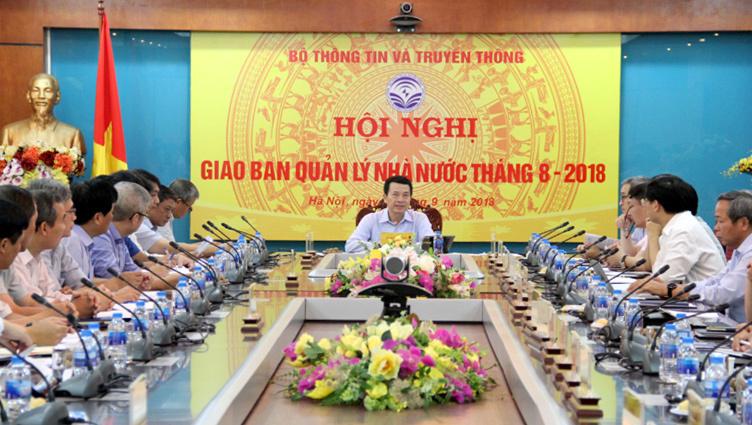Bộ TT&TT,phân công công việc,Quyền Bộ trưởng Nguyễn Mạnh Hùng