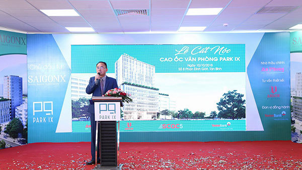 Sài Gòn 9 cất nóc văn phòng chuyên nghiệp Park IX