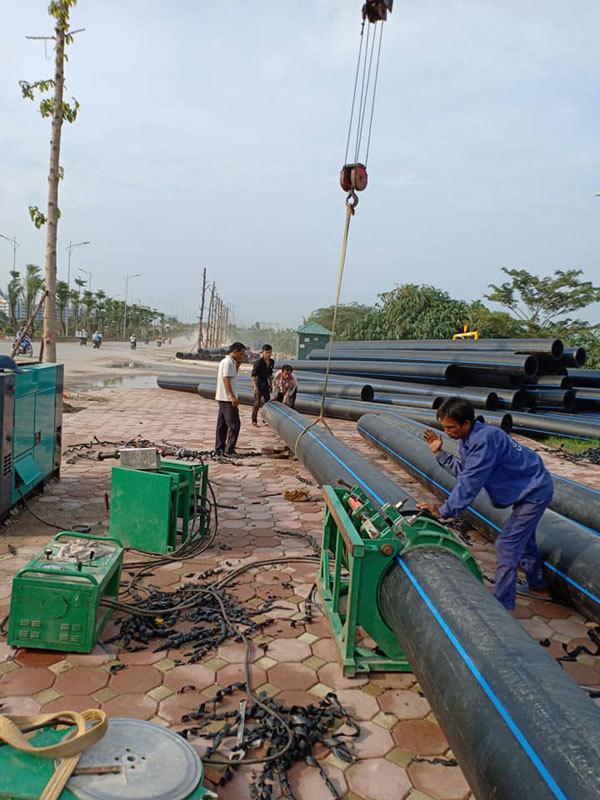 Khu đô thị Mường Thanh Thanh Hà đã có nước sạch