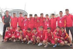 Cầu thủ 'nhí' Việt Nam tranh cup bóng đá Toyota quốc tế