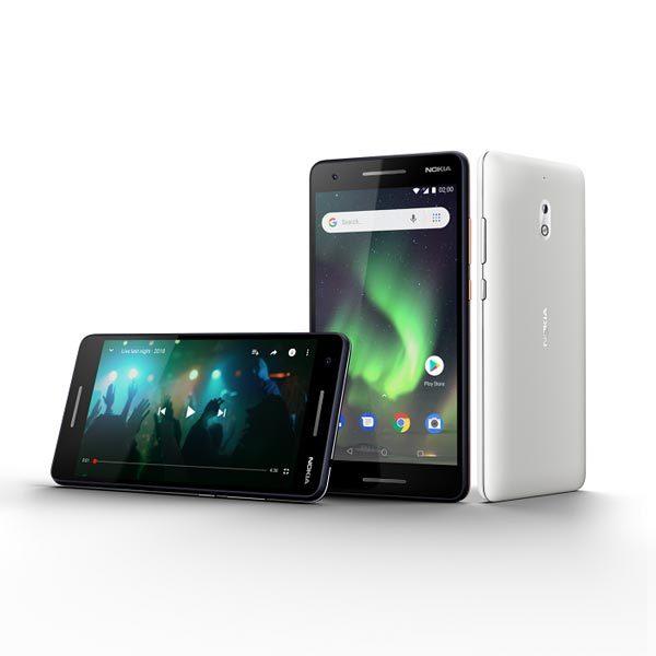 Giải trí không lo cạn pin với Nokia 2.1