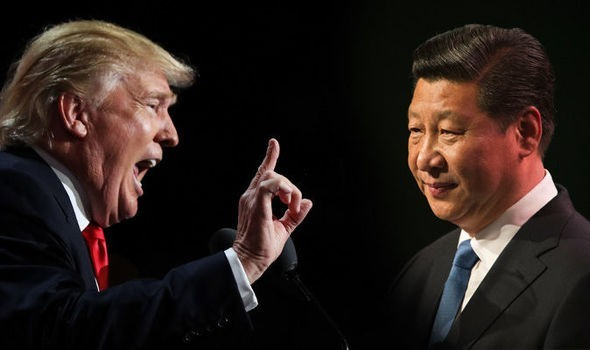 Quan hệ Mỹ-Trung,Cuộc chiến thương mại Mỹ-Trung