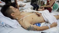 Khởi tố vụ nam thanh niên bị chém nát chân ở Phú Thọ