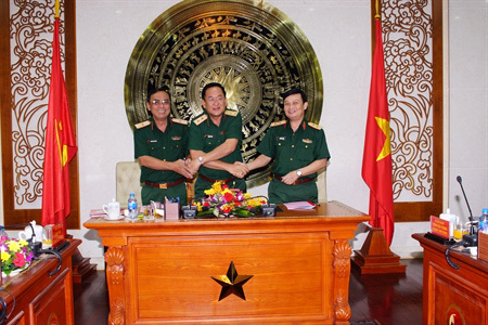 Trần Hoài Trung,Quân khu 7