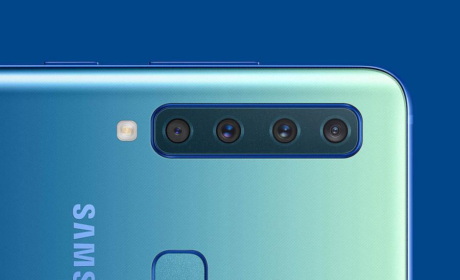 Smartphone 4 camera đầu tiên trên thế giới của Samsung lộ diện toàn bộ
