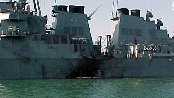 Ngày này năm xưa: Chiến hạm Mỹ bị đánh bom tàn khốc