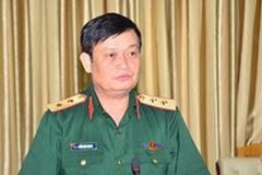 Phó Đô đốc Trần Hoài Trung nhận nhiệm vụ Chính ủy Quân khu 7