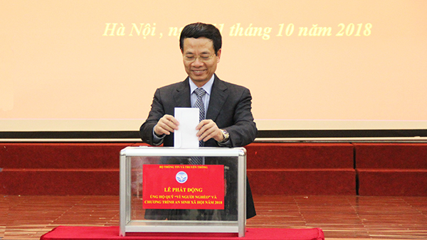Bộ TT&TT,Bộ trưởng Nguyễn Mạnh Hùng,Vì người nghèo