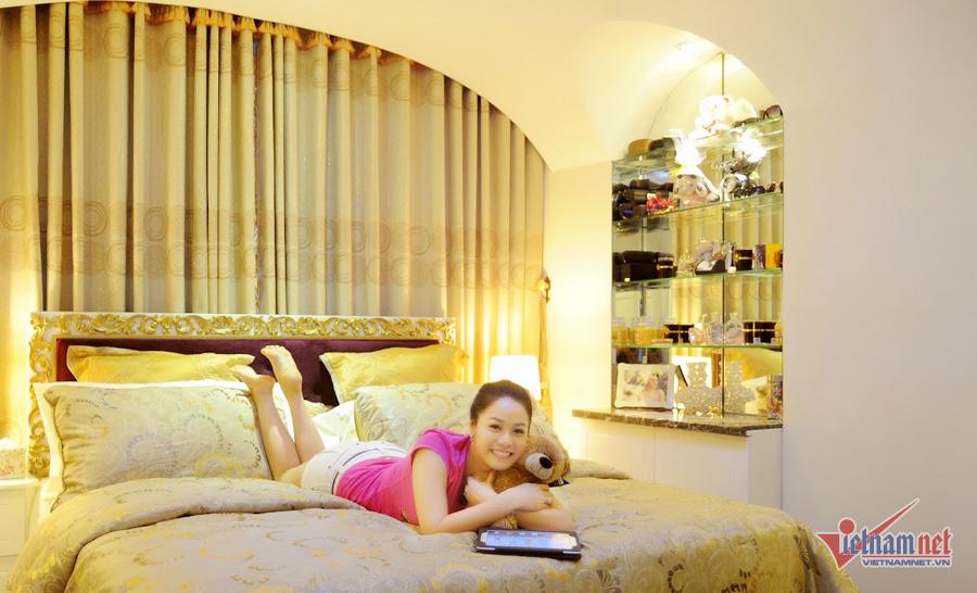 Căn hộ ngọt ngào của Nhật Kim Anh