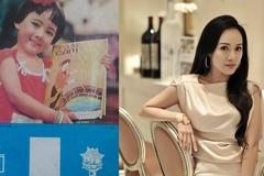 Bé gái trên bìa lịch những năm 1980 là BTV Hoài Anh