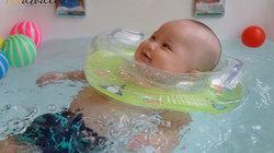 Nhộn nhịp dịch vụ 'Bé bơi thủy liệu' tại Kawaii Spa