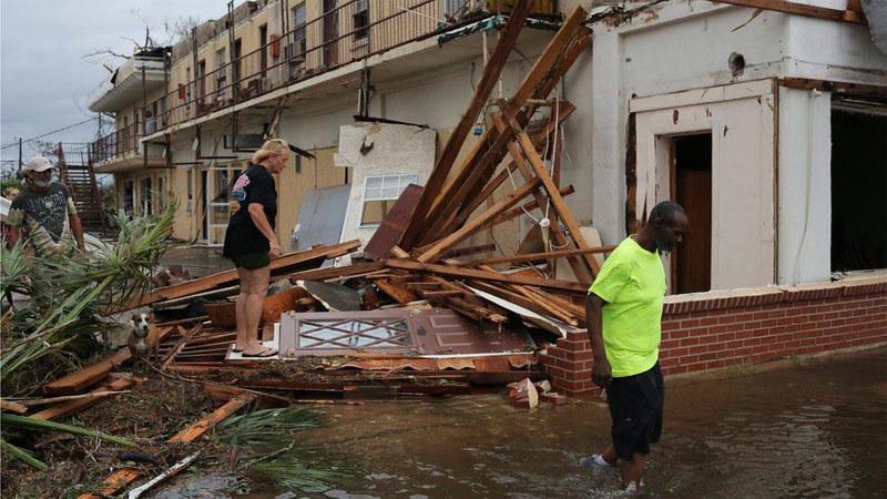 Siêu bão Michael,siêu bão,siêu bão tấn công Mỹ,Florida,tàn phá