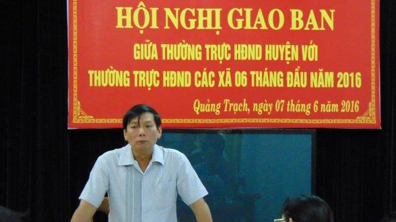 Quảng Bình,kỷ luật cán bộ,cả họ làm quan