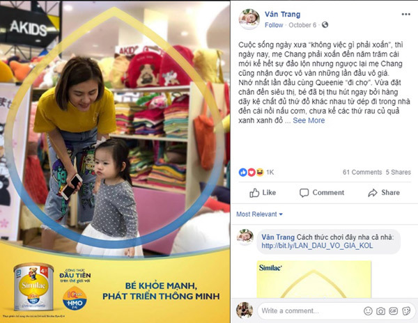 Mẹ Việt xúc động chia sẻ 'lần đầu vô giá' của con