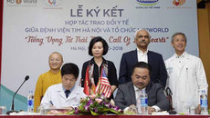 Vinamilk chi 700 triệu hỗ trợ 7 ca mổ tim trẻ em 2018