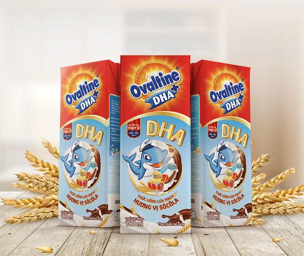 Ovaltine ra mắt sản phẩm ca cao lúa mạch bổ sung DHA