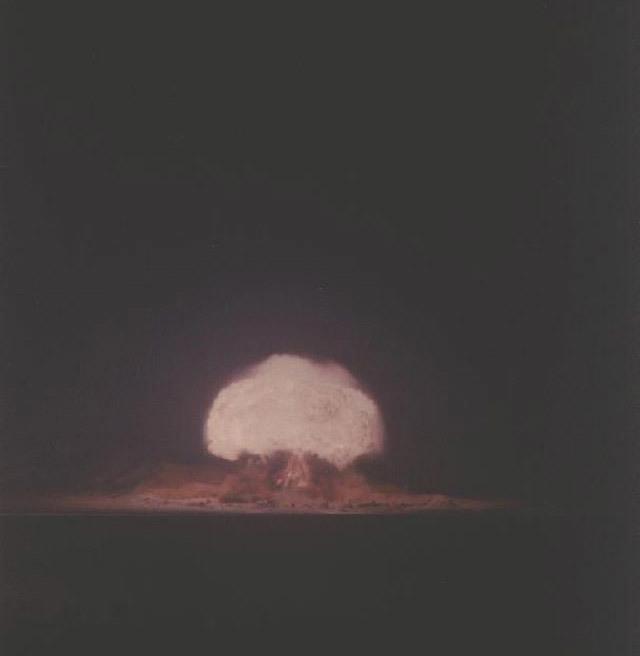 Ảnh màu hiếm có về các vụ thử hạt nhân của Mỹ