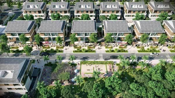 Hà Nội: Giới đầu tư 'đổ tiền' vào biệt thự thương mại
