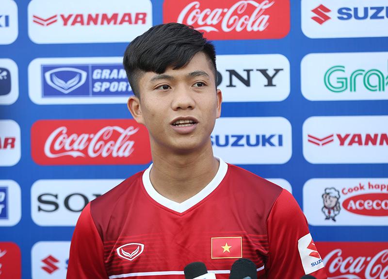 Phan Văn Đức tự tin có 50% cơ hội đá chính ở tuyển Việt Nam