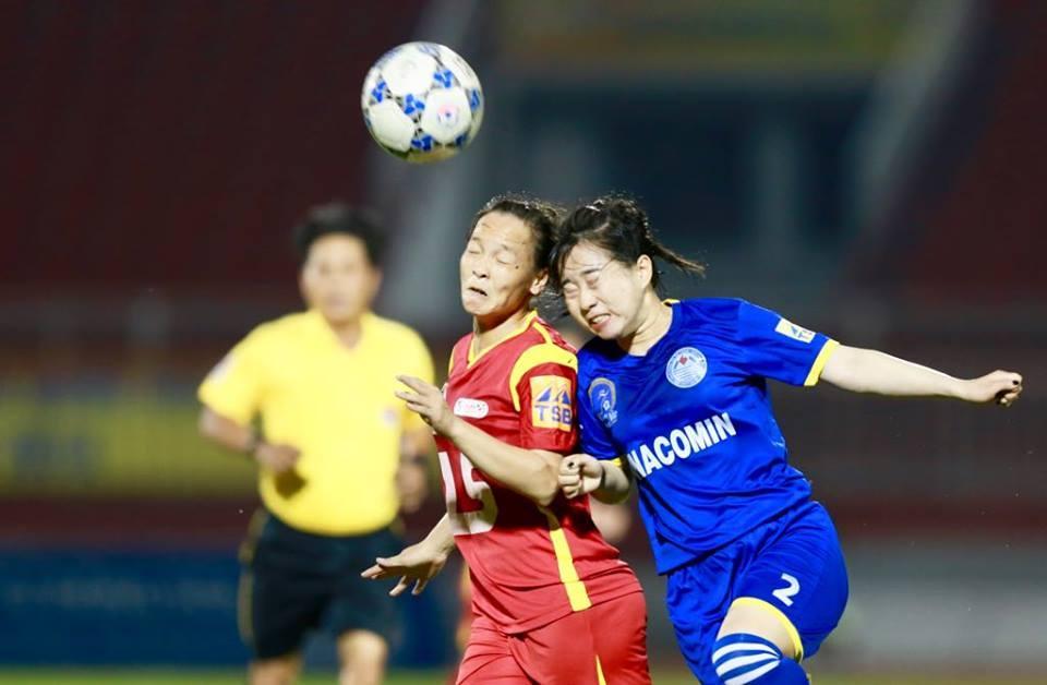 Bán kết giải nữ VĐQG: TPHCM I vs TKS Việt Nam ẩu đá khó tin