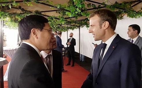 PTT Phạm Bình Minh dự phiên toàn thể hội nghị cấp cao Pháp ngữ