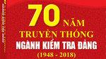 Sách mới: 70 năm truyền thống Ngành Kiểm tra Đảng (1948 - 2018)