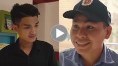Video: Cười phụt cơm với Mạc Văn Khoa troll anh bảo vệ