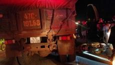 Nữ trung úy công an bị xe tải cán tử vong