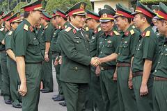 Đại tướng Ngô Xuân Lịch thăm và làm việc tại Quân đoàn 1