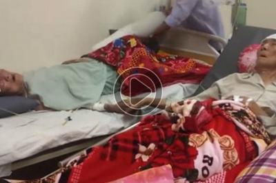 Clip nắm tay nhau của ông và bà trên giường bệnh khiến lớp trẻ phải suy ngẫm