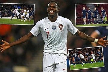 Chẳng cần Ronaldo, Bồ Đào Nha vẫn đại thắng Scotland