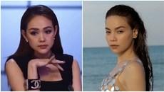 Phản ứng của Minh Hằng khi nhạc Hồ Ngọc Hà vang lên tại The Face 2018