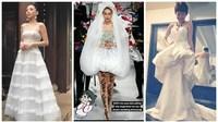 Fan mong chờ váy cưới của Tóc Tiên khi trở thành cô dâu của Hoàng Touliver