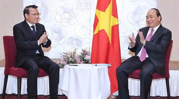 Hình ảnh hoạt động của Thủ tướng Nguyễn Xuân Phúc tại Áo