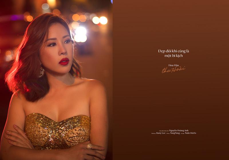 Hoa hậu Thu Hoài,Tự truyện