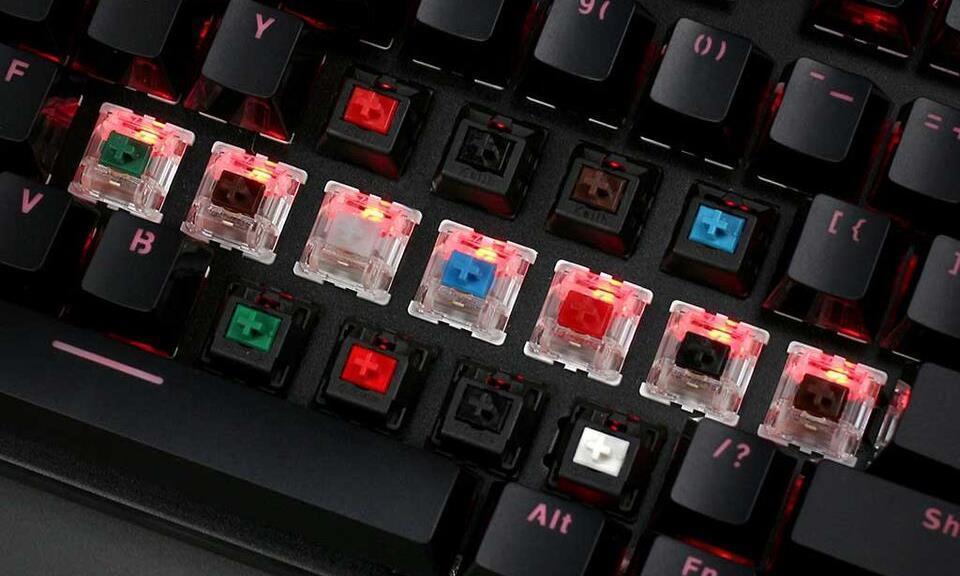 Thú chơi hoài cổ: Bàn phím cơ tái hiện máy đánh chữ